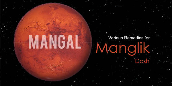 Vedic Astrological Remedies for Manglik Dosha