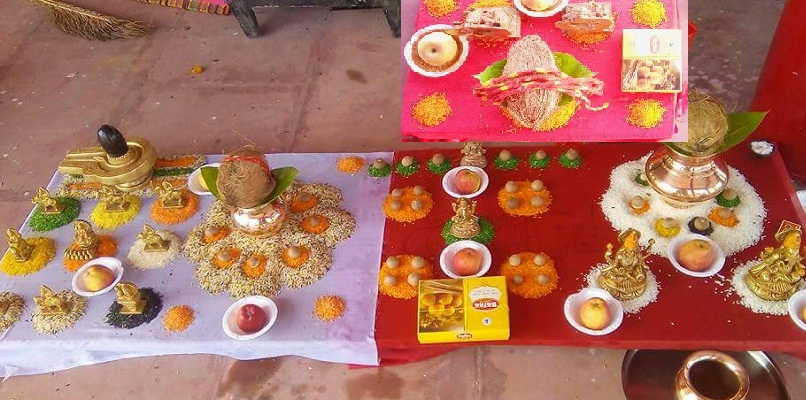 Vedic Ritual of Navagrah Puja and Homa